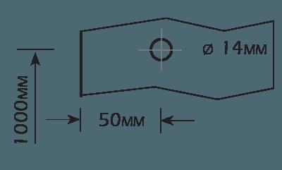 Furação para Puxador Vidros de 8mm