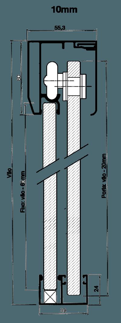 Kit Engenharia Folgas 10mm