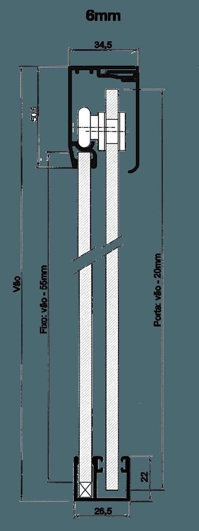 Kit Engenharia Folgas 6mm