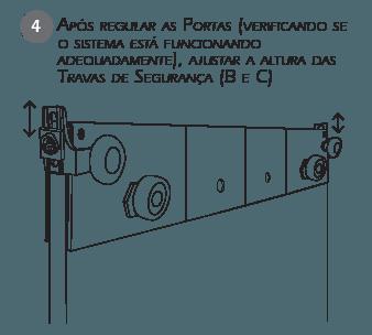 Montagem Sistema de Travas de Segurança BT3 passo 4