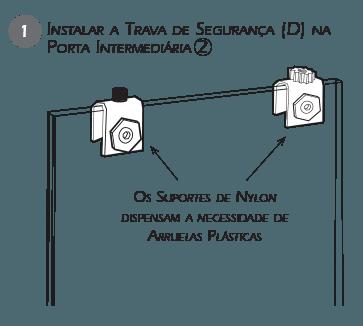 Montagem Trava de Segurança VT - Passo 1