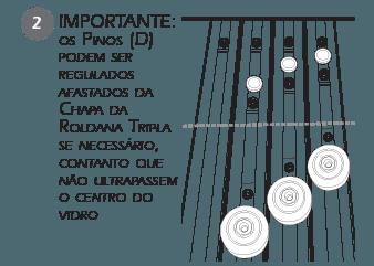 Montagem Contenção Sacada - passo 2