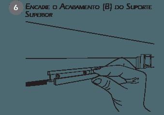 Montagem Contenção Sacada - passo 6