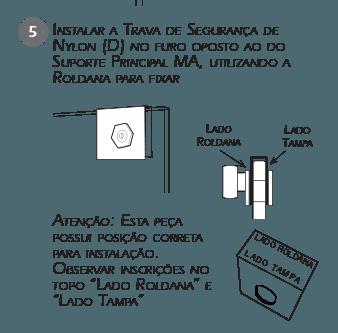 Montagem Trava de Segurança VE - Passo 5
