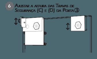 Montagem Trava de Segurança VE - Passo 6